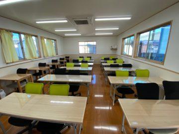 ウィズコロナについて 十分な換気が出来る教室の画像